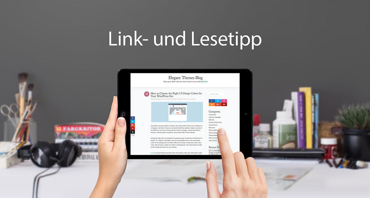 Lesetipp: Right UI Color / Webfarben wählen